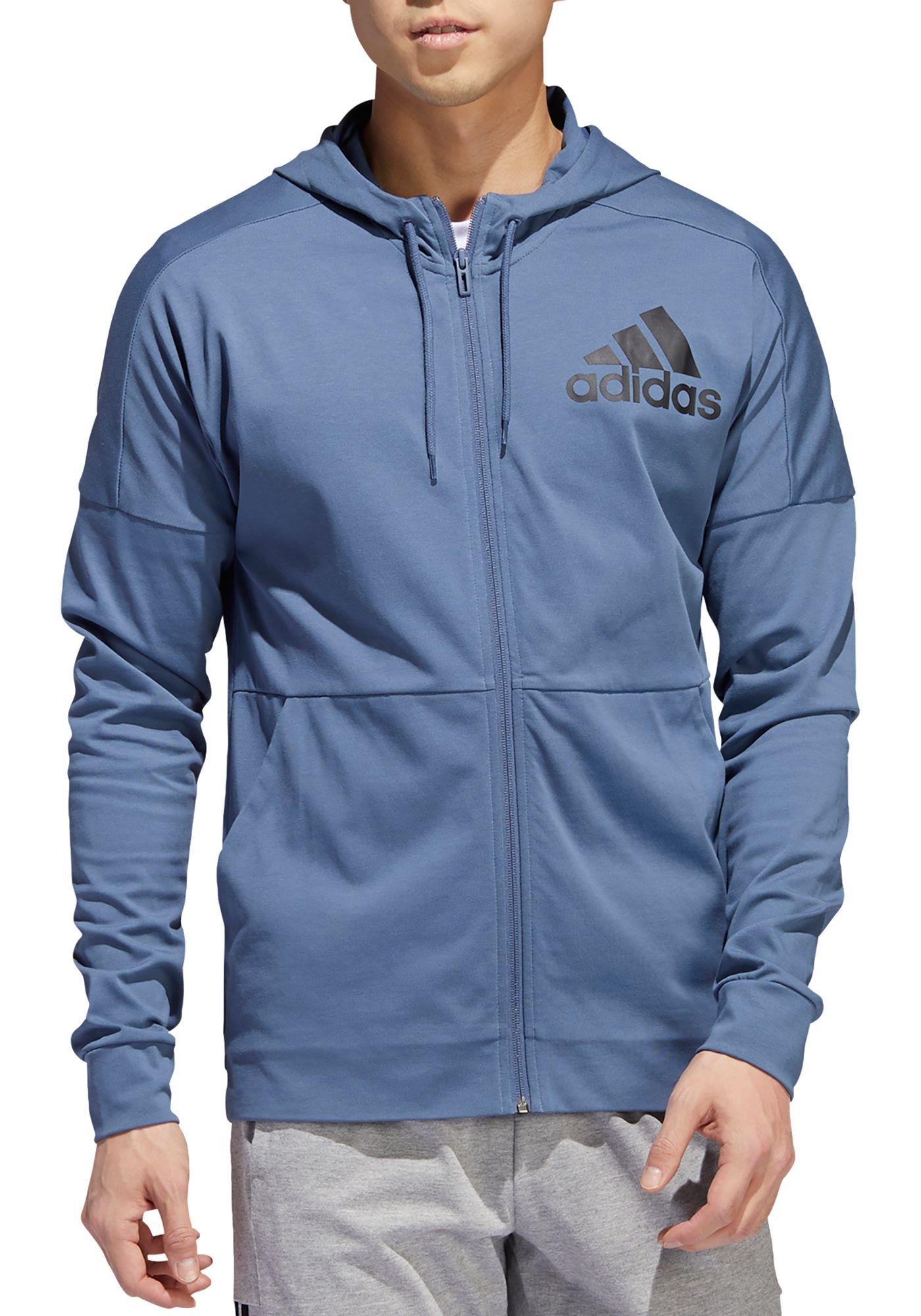 adidas Men's Athletics Full Zip Hoodie