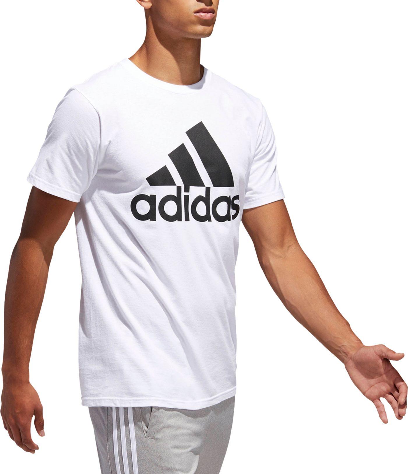 adidas Men's Athletics Badge Of Sport Graphic T-Shirt