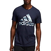 adidas Men's Badge Of Sport Camo T-Shirt