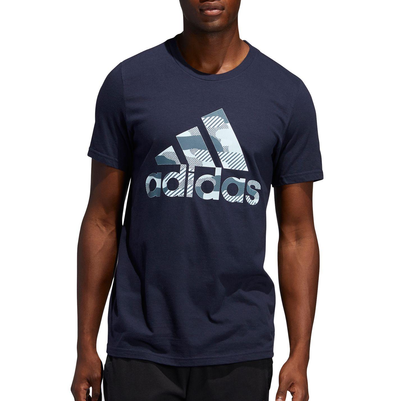adidas Men's Badge Of Sport Camo T-Shirt (Regular and Big & Tall)