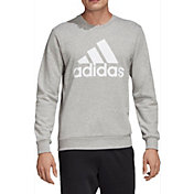 adidas Men's Must Haves Badge Of Sport French Terry Crewneck