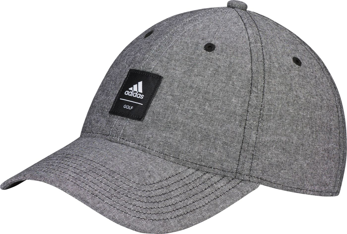 adidas Men's Chambray Patch Golf Hat