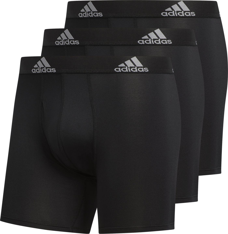 adidas Men's Performance climalite Boxer Briefs – 3 Pack