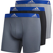 adidas Men's Performance climalite Boxer Briefs – 3 Pack