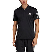 adidas Men's Club 3 Stripes Tennis Polo