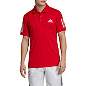 adidas Men's Club 3 Stripes Tennis Polo