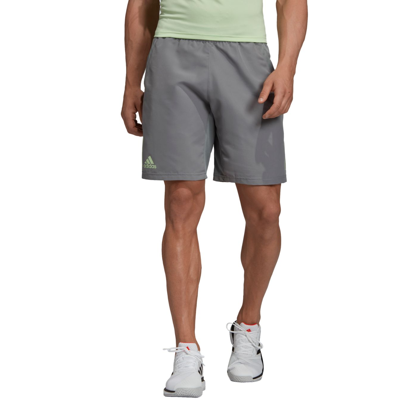 adidas Men's Club 3 Stripes Tennis Shorts