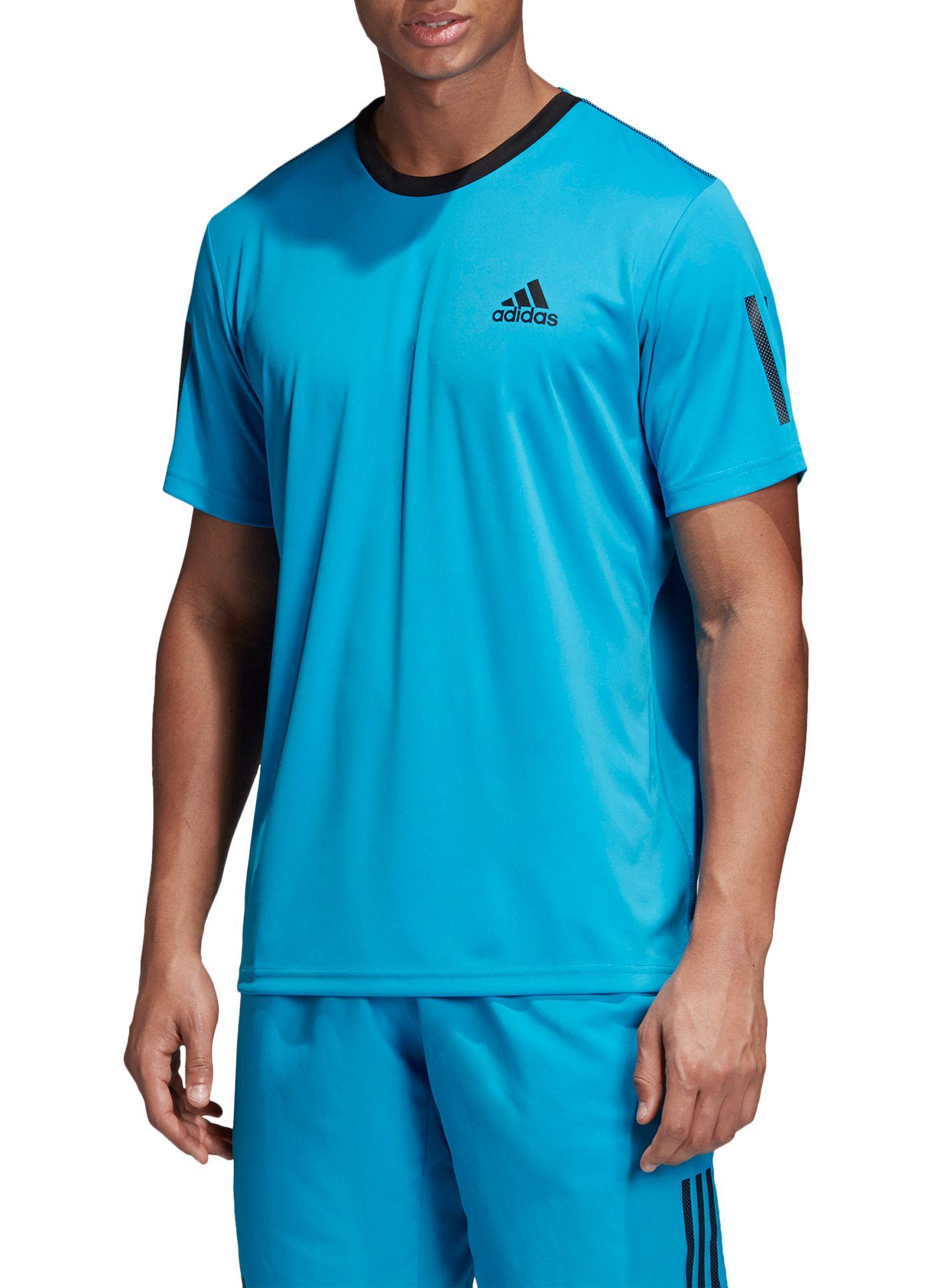 adidas Men's Club 3-Stripe Tennis T-Shirt