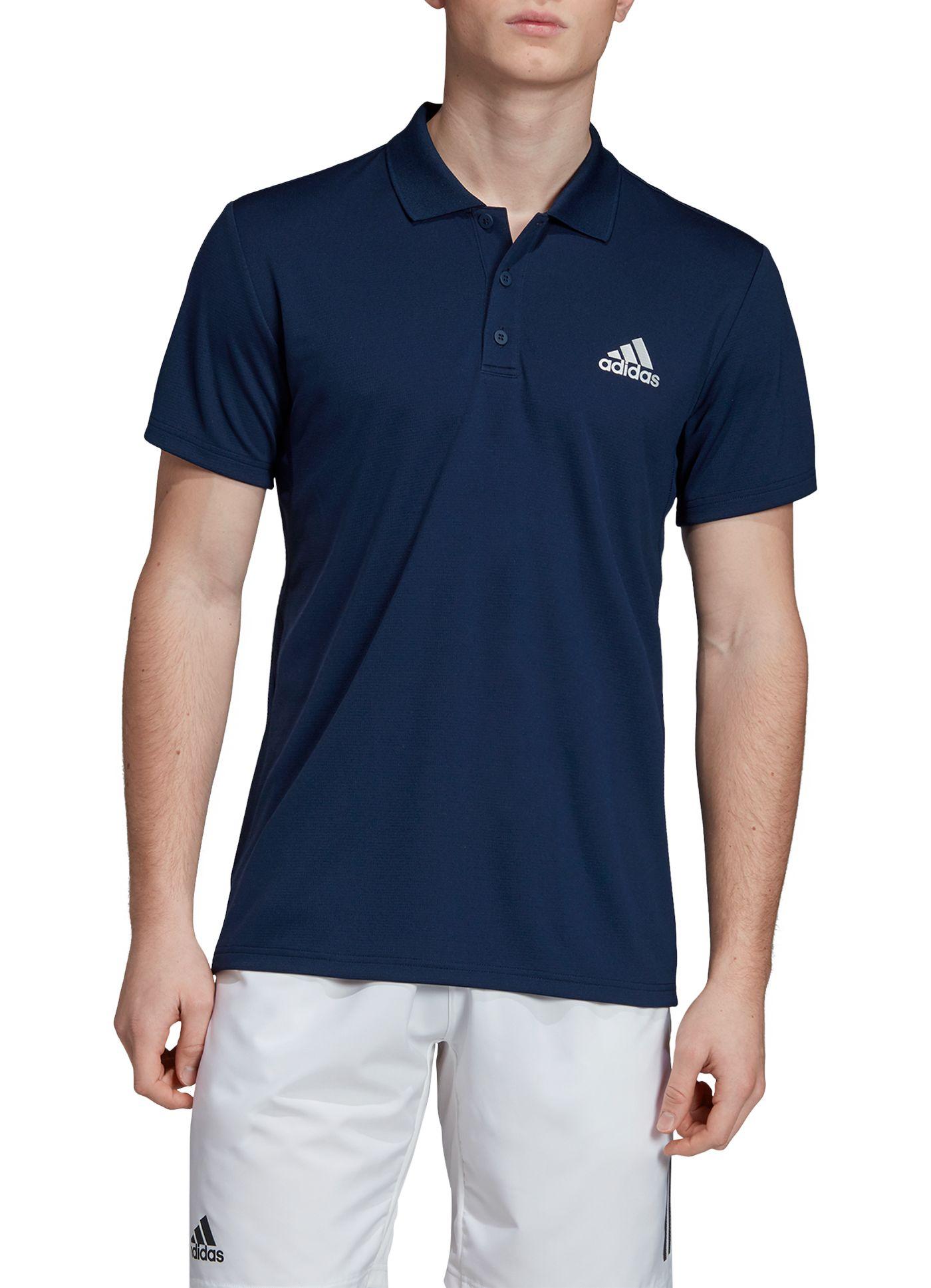 adidas Men's Club Rib Golf Polo