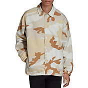 adidas Originals Men's Camouflage Coach Jacket