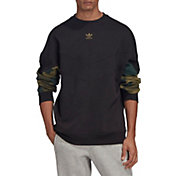 adidas Originals Men's Camo Crewneck Sweatshirt