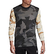adidas Originals Men's Camo Mix Long Sleeve Shirt