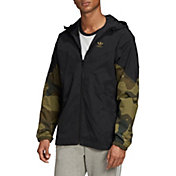 adidas Men's Camo Windbreaker Jacket