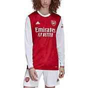 adidas Men's Arsenal '20 Home Long Sleeve Replica Jersey