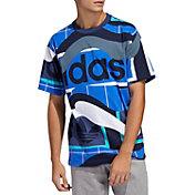 adidas Originals Men's Catalog Print Graphic T-Shirt