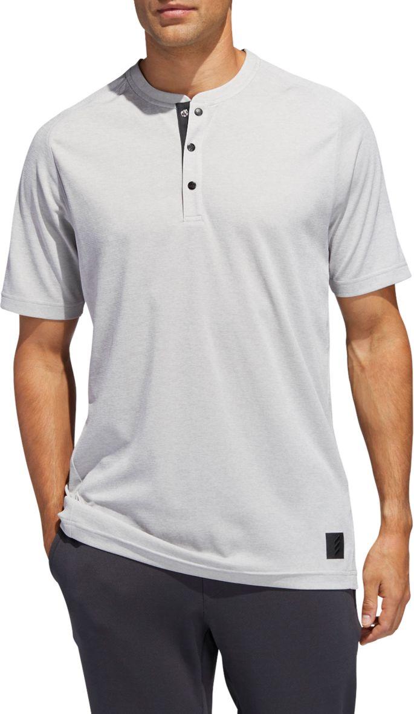 d7877a896bb31 adidas Men's Adicross Transition Henley Golf Shirt | Golf Galaxy