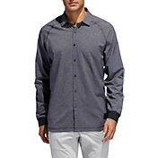 adidas Men's Adicross Woven Oxford Golf Shirt