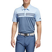 adidas Men's Heather Color Block Golf Polo