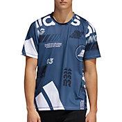 adidas Men's FreeLift Daily Print Graphic T-Shirt (Regular and Big & Tall)