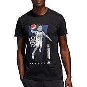 adidas Men's Donovan Geek Up Basketball Graphic T-Shirt