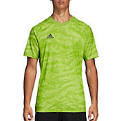 adidas Men's AdiPro 18 Short Sleeve Goalkeeper Jersey