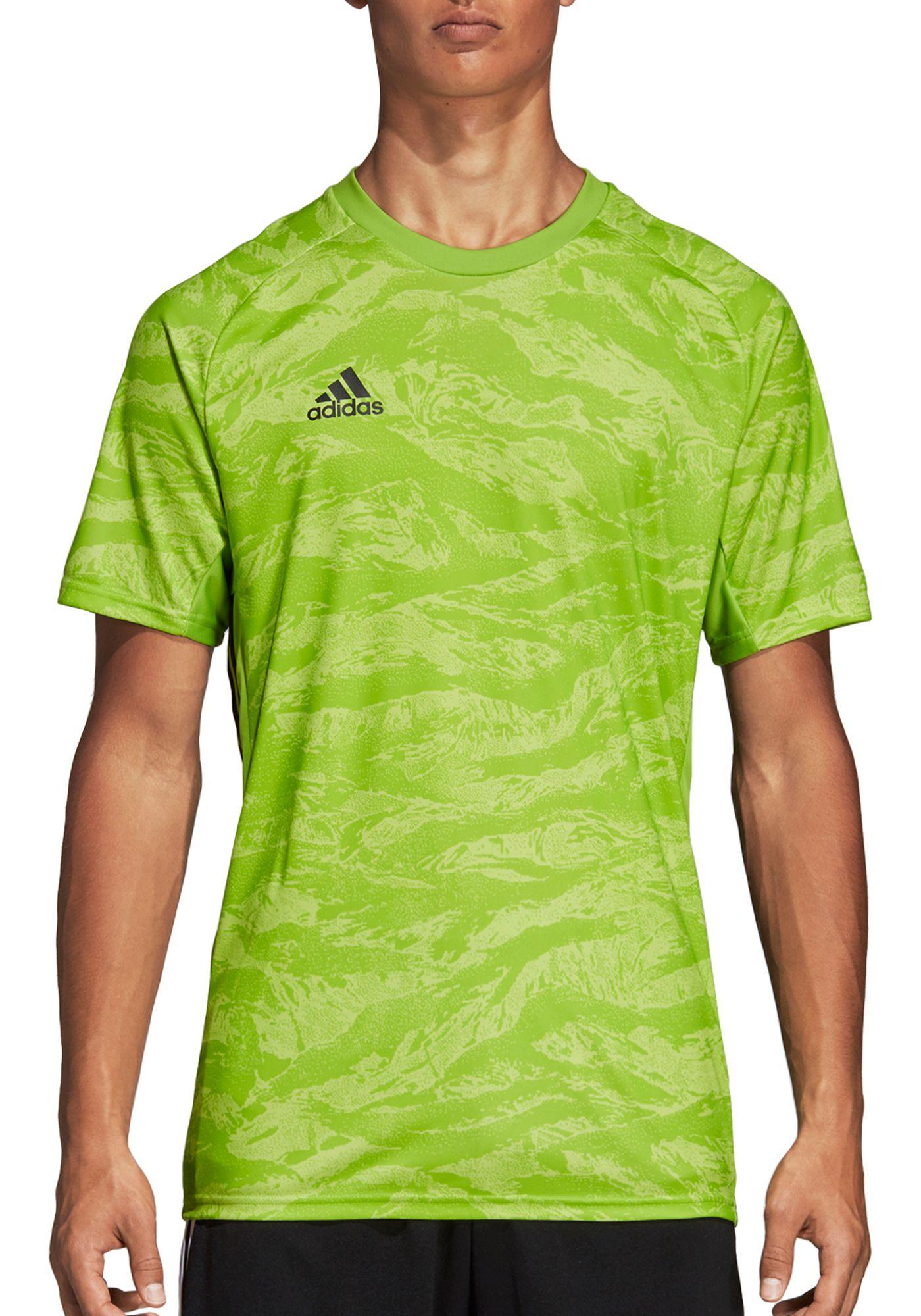 adidas Men's AdiPro 18 Short Sleeve Goalkeeper Jersey