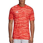 adidas Adult AdiPro 18 Short Sleeve Goalkeeper Jersey