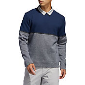 adidas Men's Adicross Fleece Crew Neck Golf Sweatshirt
