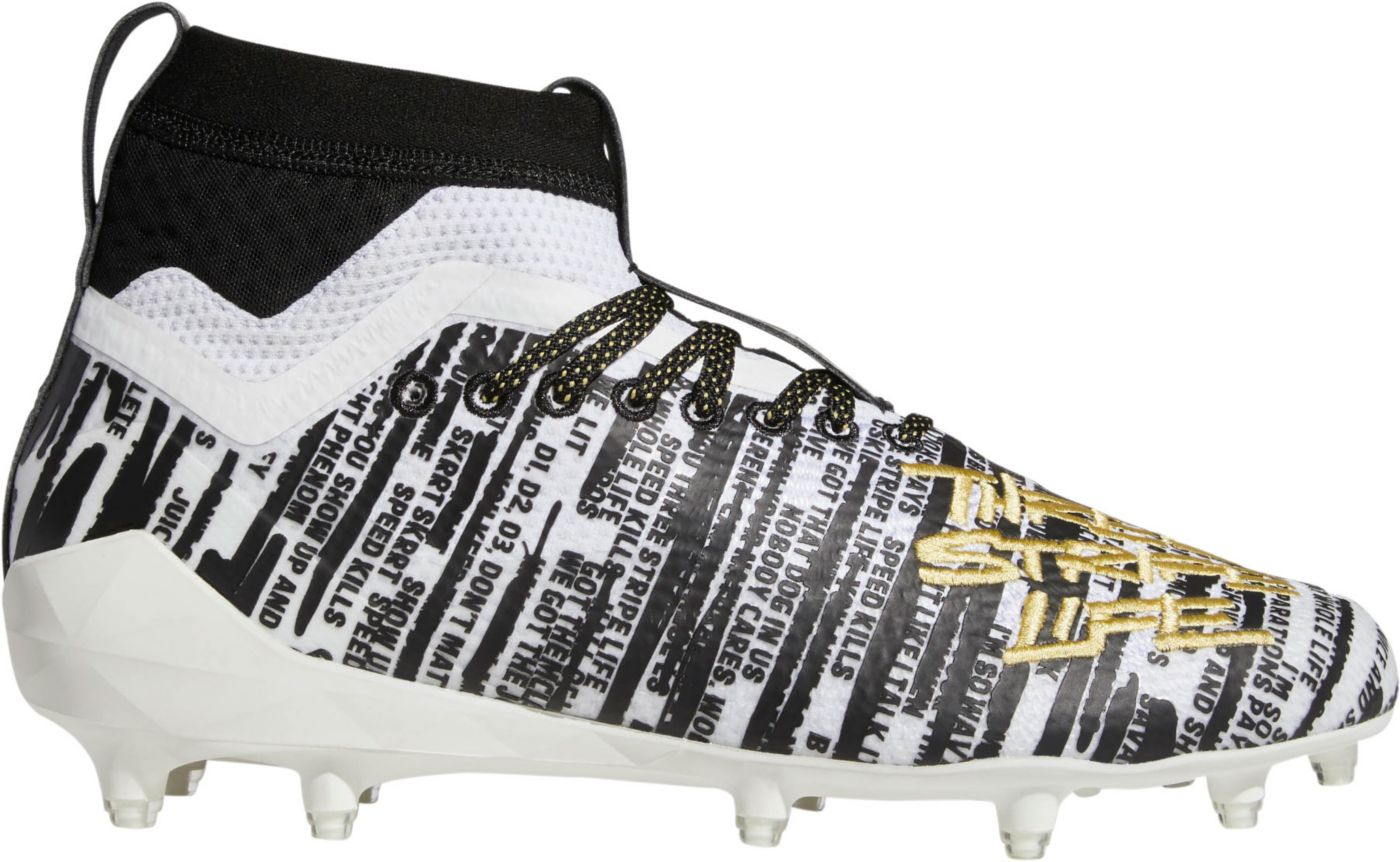 adidas Men's adizero 8.0 Three Stripe Life SK Football Cleats