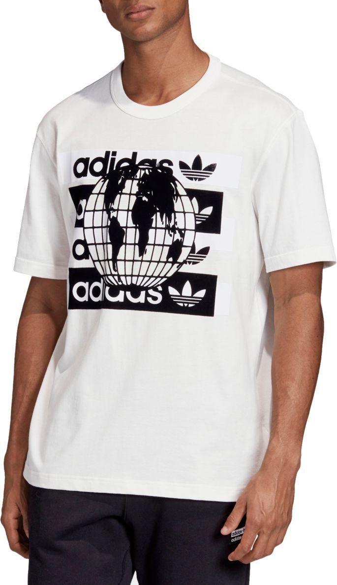 adidas Original R.Y.V. Message Logo T Shirt