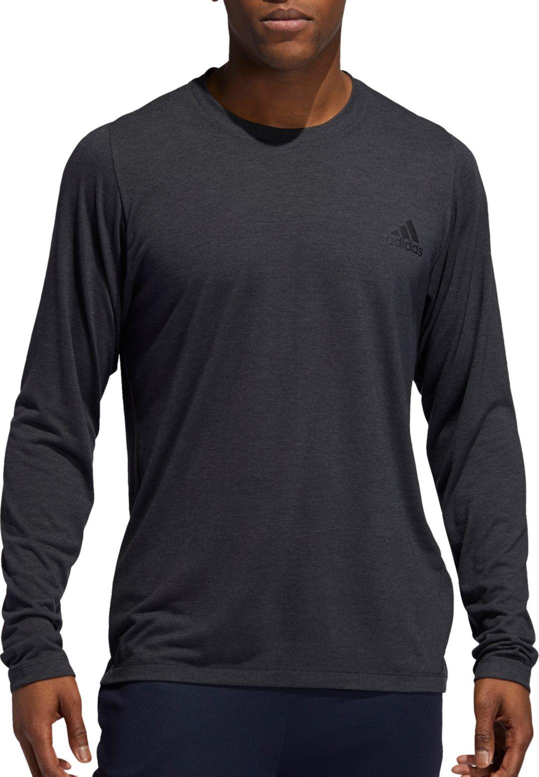 adidas Men's FreeLift Long Sleeve Shirt (Regular and Big & Tall)