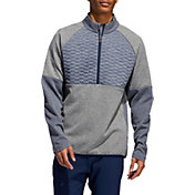 adidas Men's Quilted Frostguard ¼ Zip Golf Pullover