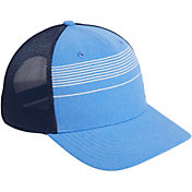 adidas Men's Striped Trucker Golf Hat