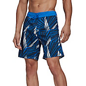adidas Men's Graphic Tech Swim Shorts