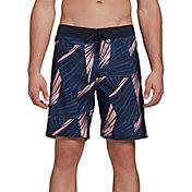 adidas Men's Graphic Tech Swim Shorts