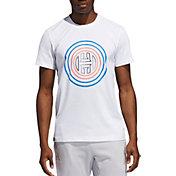 adidas Men's Harden Vol 4 Logo Basketball T-Shirt
