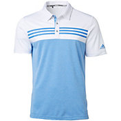 adidas Men's Drive Heather Block Golf Polo