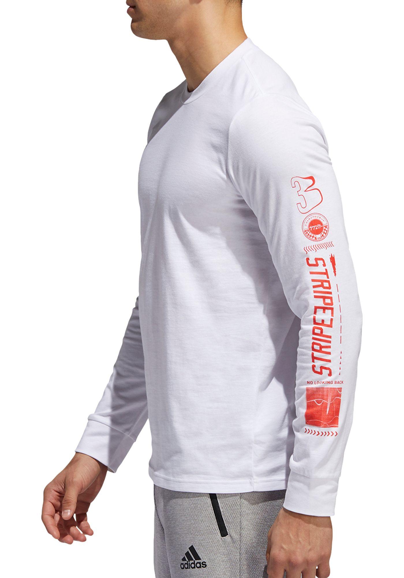 adidas Men's Athletics Hypersport Amplifier Long Sleeve Shirt
