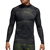 adidas Men's Alphaskin Camouflage Long Sleeve Shirt