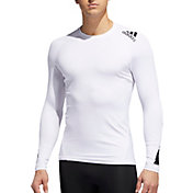 adidas Men's Alphaskin Sport Moto Pack Long Sleeve Shirt