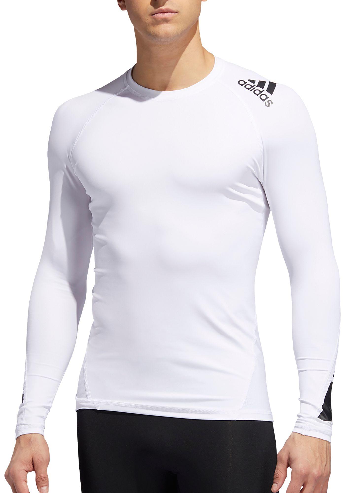adidas Men's Alphaskin Sport Moto Pack Long Sleeve Shirt