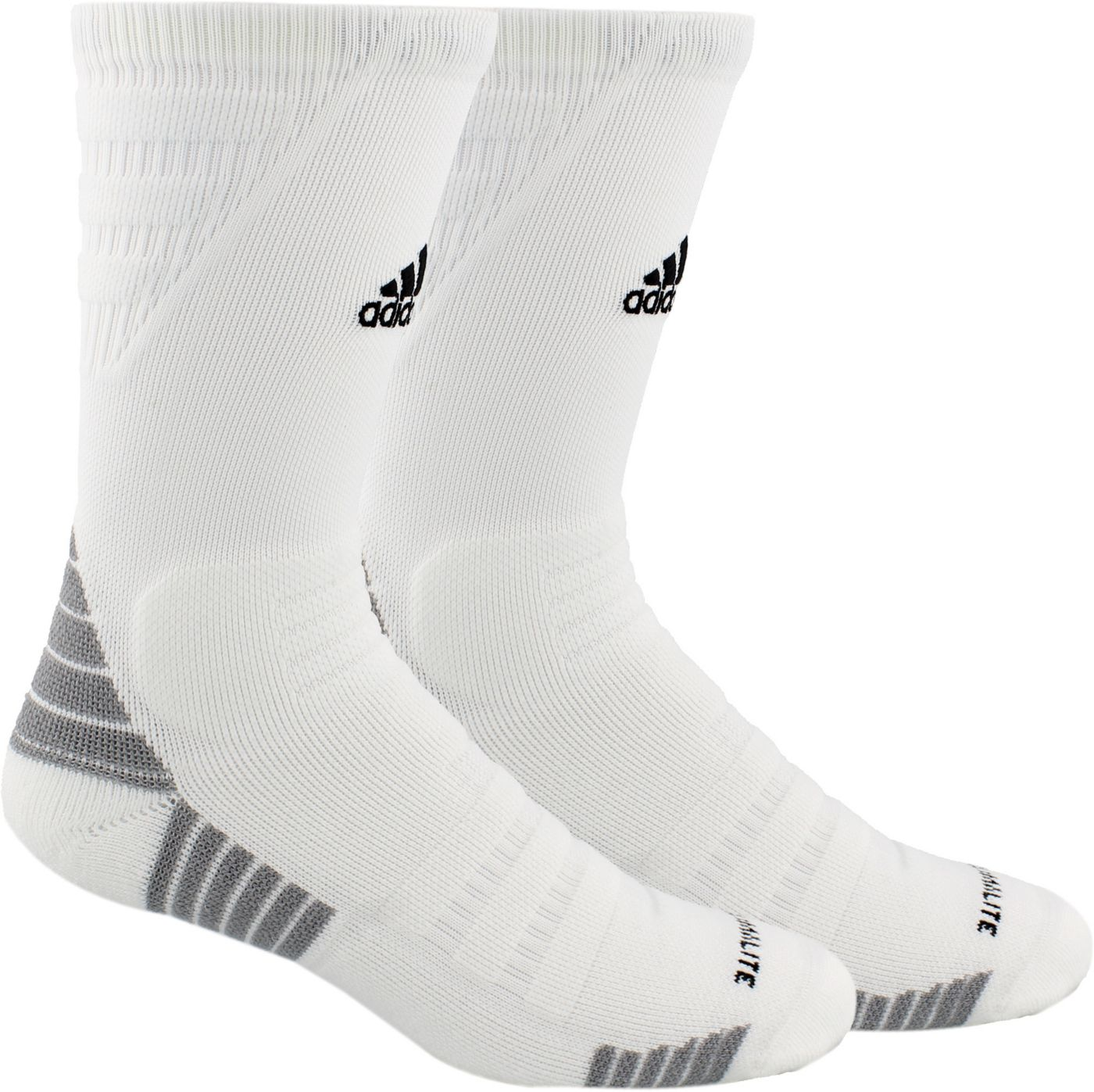 adidas Alphaskin Maximum Cushioned Crew Socks