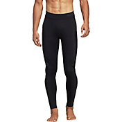adidas Men's Alphaskin Tech 3-Stripes Long Tights