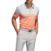 adidas Men's Ultimate365 Gradient Block Stripe Golf Polo