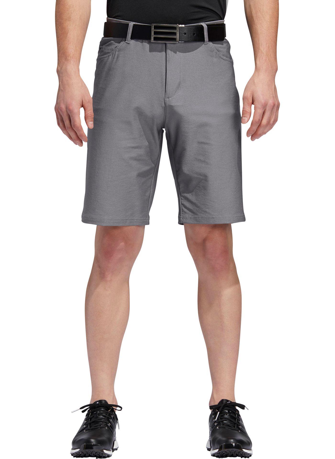 adidas Men's Ultimate365 Heather 5 Pocket Golf Shorts