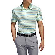 adidas Men's Ultimate365 Striped Golf Polo