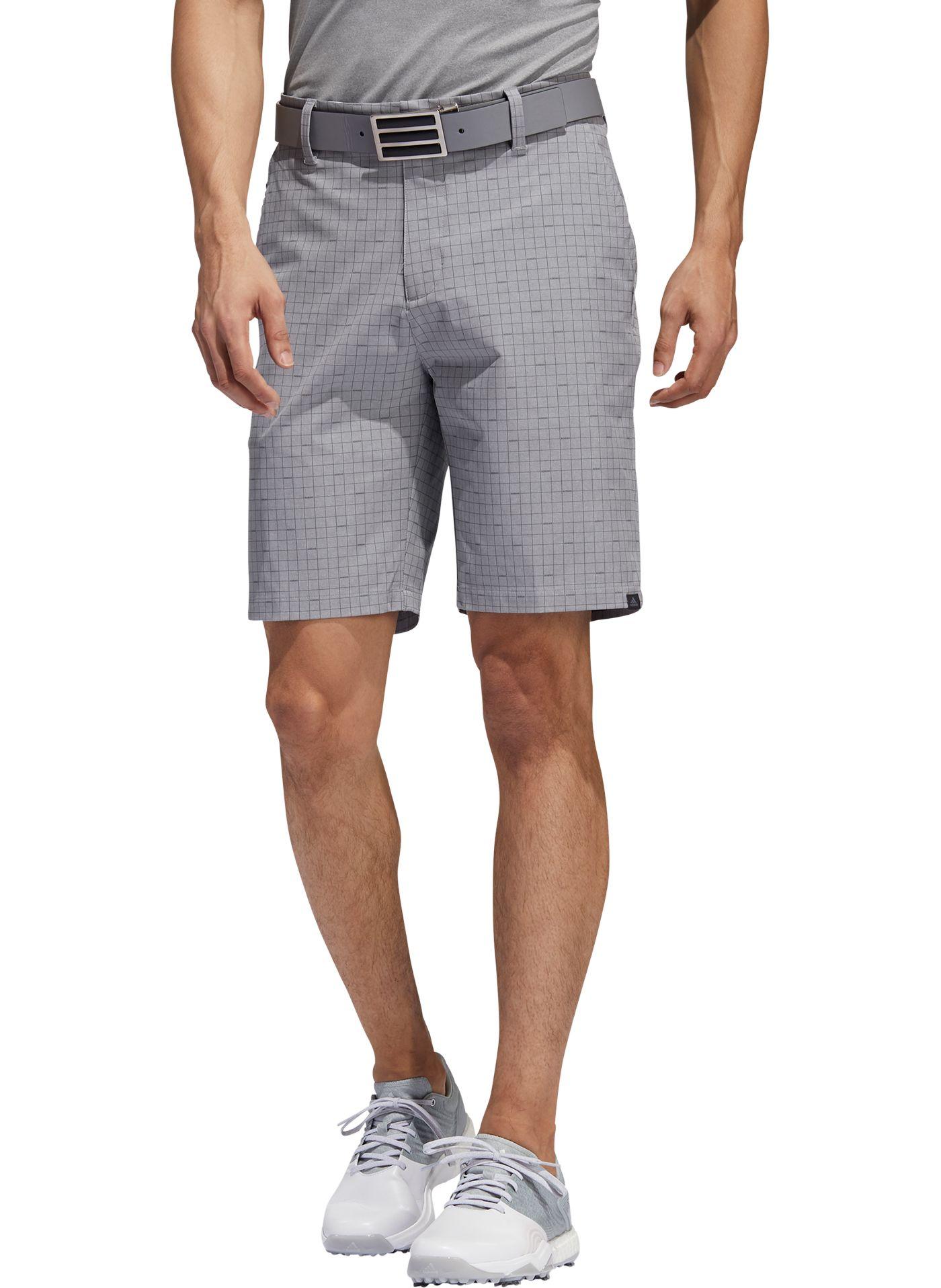 adidas Men's Ultimate365 Plaid Golf Shorts