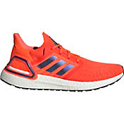 adidas Men's Ultraboost 20 Goodbye Gravity Running Shoes in Red/Blue/White