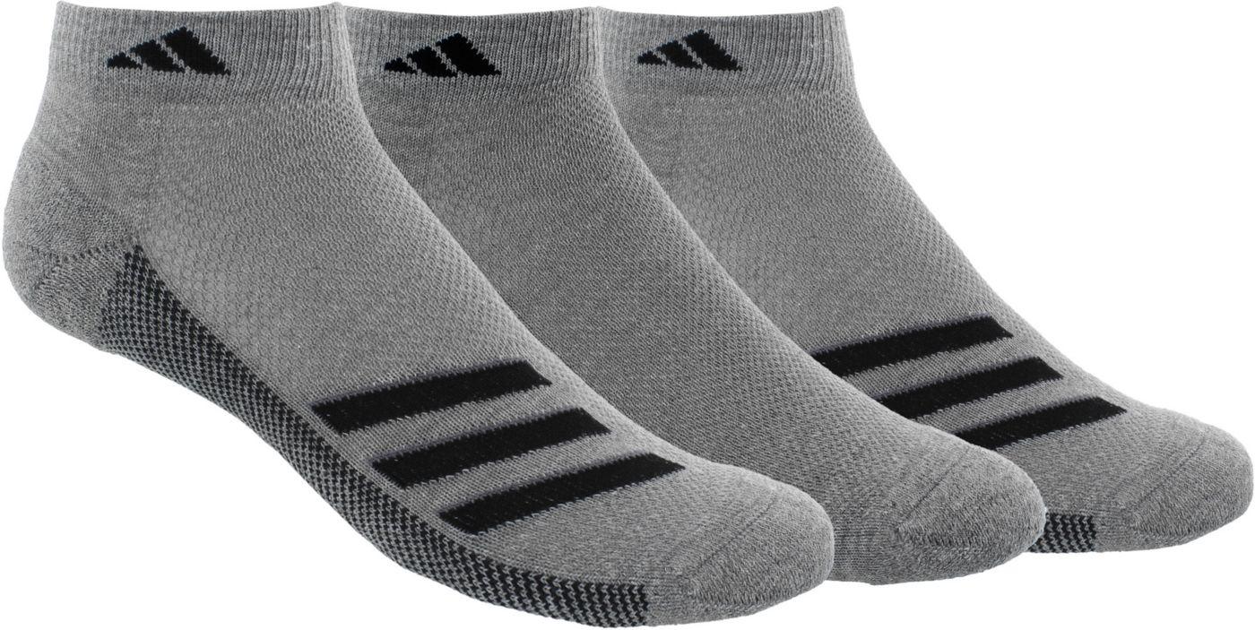 adidas Men's Superlite Stripe Low Cut Socks - 3 Pack