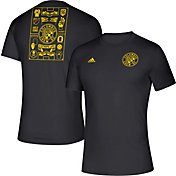 adidas Men's Columbus Crew Iconic Black T-Shirt